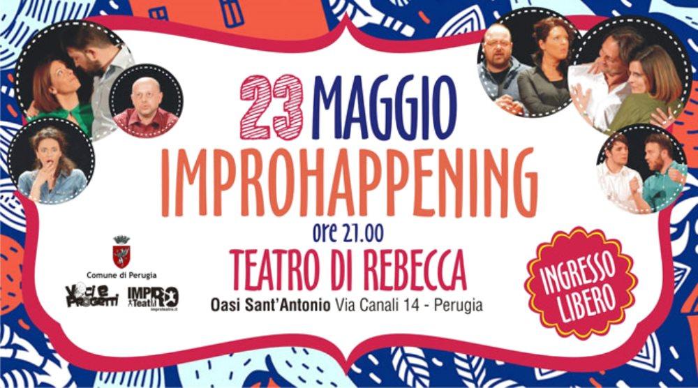 VOCI & PROGETTI: IMPROVVISAZIONE PERUGINA Gli allievi in scena al Teatro Di Rebecca