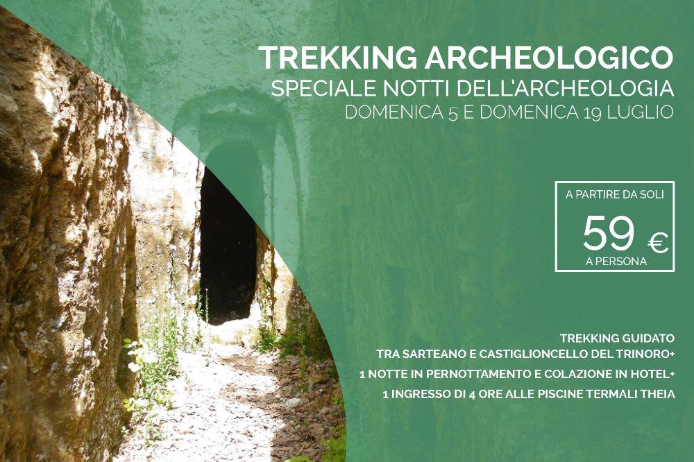 TREKKING ARCHEOLOGICO Passeggiate tra natura e storia domenica 5 luglio e domenica 19 luglio