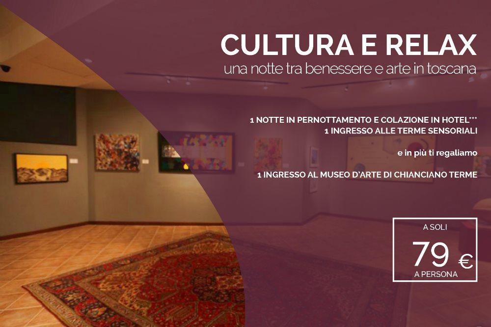 CULTURA & RELAX Una notte tra benessere e arte in Toscana