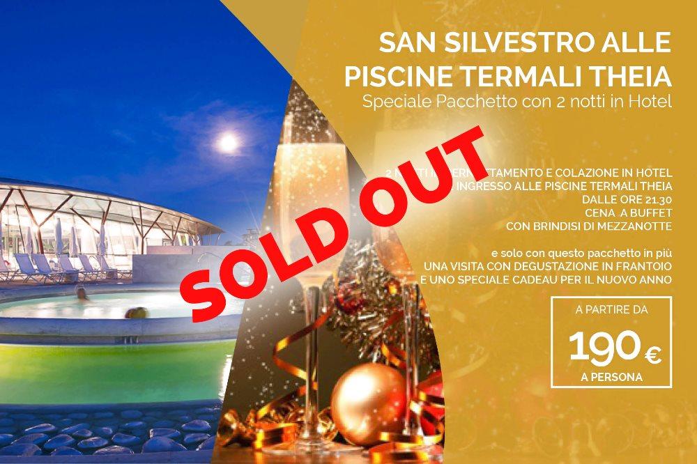 SAN SILVESTRO ALLE PISCINE TERMALI THEIA Speciale Pacchetto con 2 notti in Hotel!