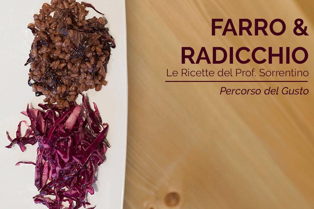 FARRO AL RADICCHIO Remise en form con le Ricette del Prof. Nicola Sorrentino