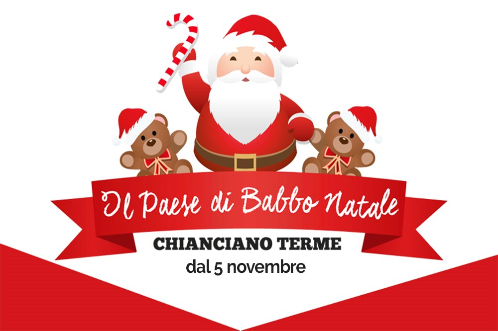 Santa claus village magic is coming back in chianciano terme santa claus village m4hsunfo
