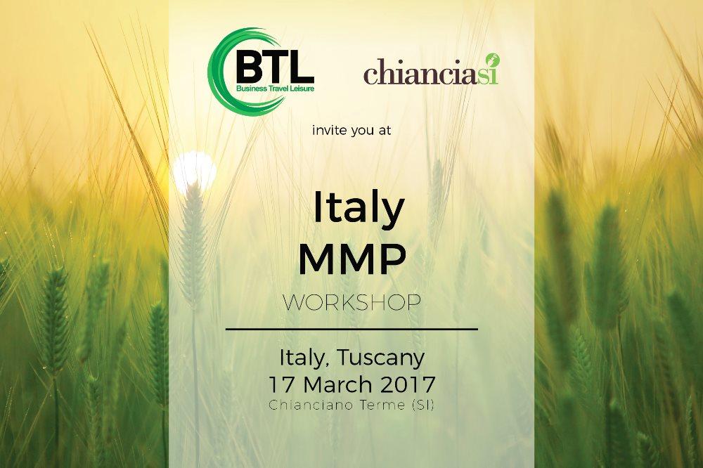 INCONTRA GLI OPERATORI DELL'EST EUROPA AL MMP  Workshop turistico a Chianciano Terme – 17 marzo 2017