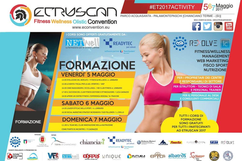 ETRUSCAN - Chianciano Terme Fitness Wellness Olistic Convention: 5-6-7 Maggio