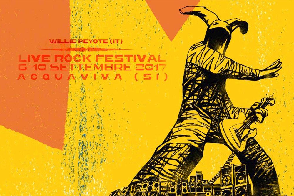 XXI EDIZIONE LIVE ROCK FESTIVAL Il Festival che fa la differenza!