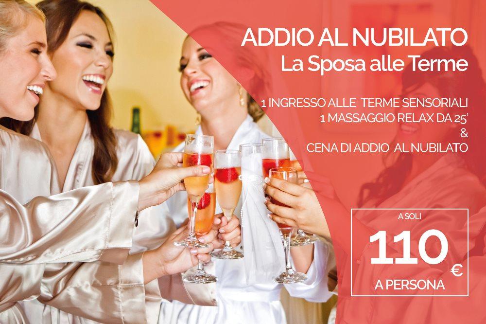 ADDIO AL NUBILATO La Sposa alle Terme